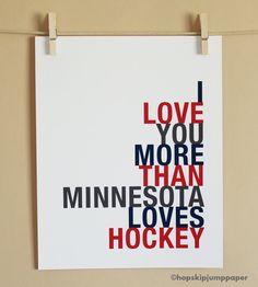 Minnesota valentine.