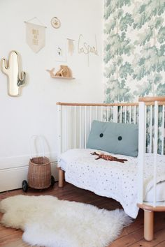 Look how this outdoor Mermaids Tail cushions looks super duper great in this kids room.