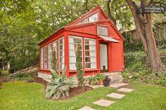 A 1960s backyard guest casita in central Austin.