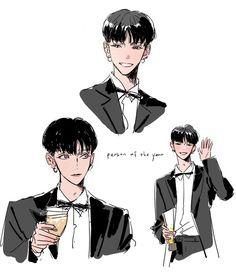 Anime Drawings Sketches, Manga Drawing, Character Art, Character Design, Nct, Boy Sketch, Pretty Drawings, Korean Art, Epic Art