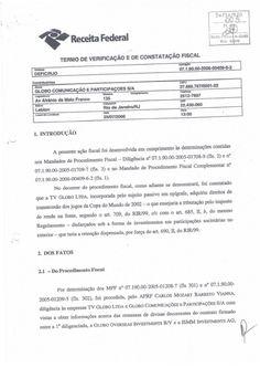 Relatório do Processo da Receita Federal contra a Globo by Miguel Rosario via slideshare