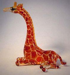 Di Murano Made in Italy- Post by Solange Soccol Murano Italia, Okapi, Glass Animals, Zoo Animals, Murano Glass, Giraffe, Glass Art, Porcelain, Metal