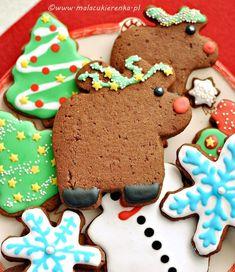 yżeczkę mielonego imbiru, 1 płaską łyżeczkę mielonych goździków, 1 łyżeczkę mielonego kardamonu, 1 łyżeczkę gałki muszkatołowej, 1 łyżeczkę mielonego ziela angielskiego Gingerbread Cookies, Food, Ginger Cookies, Meal, Eten, Meals