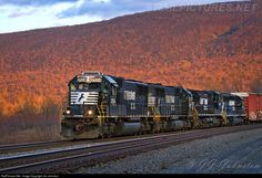RailPictures.Net Photo: NS 2524 Norfolk Southern EMD SD70 at Mexico, Pennsylvania by Jim Johnston