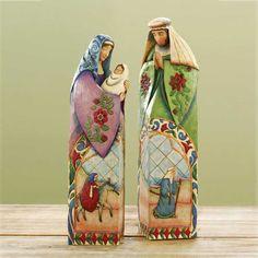 2 Piece Holy Family Figurine..nativity scene