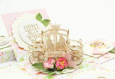 Geldgeschenke - Geldgeschenk Box zur Hochzeit, Exploding box rosa - ein…