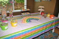 #Rainbows always make great #birthday #party decor!