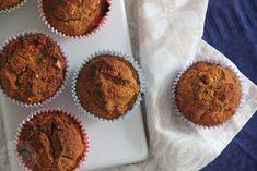 Deze ontbijtkoekmuffins van kokosmeel zijn een gezondere variant op de welbekende ontbijtkoek uit de supermarkt. Lekker als tussendoortje of bij ontbijt/lunch.