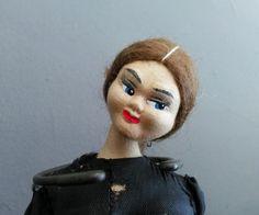 RARE Rolden Klumpe Vintage Cloth Doll Spanish Famenco Dancer picclick.com