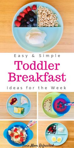 Need easy toddler breakfast meal ideas? This list of healthy, quick, and easy to… Need easy toddler breakfast meal ideas? This list of healthy, quick, and easy toddler breakfast meal ideas that will provide a lot of nutrition to your kid! Healthy Toddler Breakfast, Healthy Toddler Meals, Toddler Snacks, Quick And Easy Breakfast, Breakfast For Kids, Healthy Breakfast Recipes, Kids Meals, Kids Meal Ideas, Food Ideas
