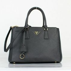 cd8761062fdd 2013 Cheap prada uk Saffiano Lux Tote BN in Black Leather P04 £346.87  £106.04