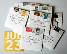 Isn't receiving a handwritten letter just lovely? Here's to encouraging all of you to write one today!
