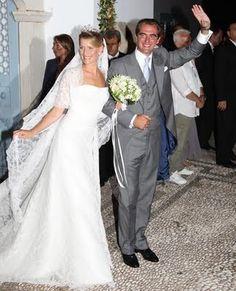 Princesa Tatiana Blatnik e Nikolaos da Grécia