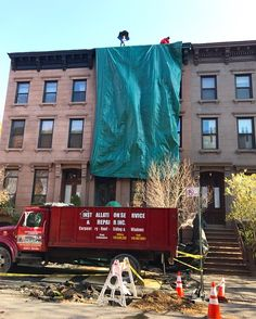 Flat roof installation in Clinton Hill, Brooklyn, NY