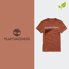 Nossa camiseta #Earthkeepers foi feita para mostrar o seu amor pela natureza. Você sabia que ela tem 50% de poliéster reciclado em sua composição?