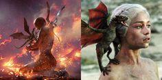 Book's Daenerys Targaryen X Show's Daenerys Targaryen