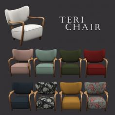 Leo Sims - Teri Chair for The Sims 4