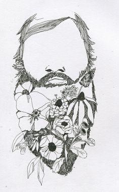Beard love -Talk about a great tattoo! ;-)