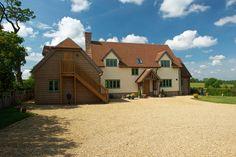 Nottinghamshire Pearmain - Border Oak - oak framed houses, oak framed garages and structures.