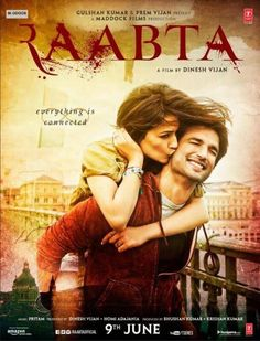 Raabta Official First Look | Sushant Singh Rajput, Kriti Sanon | Directed by Dinesh Vijan | Movie Releasing on 9th June 2017. #Raabta #SushantSinghRajput #KritiSanon #MaddockFilms #tseries #TSeriesFilms