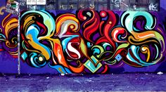 San Francisco-based street artist Victor Reyes is well known for his vibrant, aesthetically beautiful, free-flowing handstyle that are highly coveted and admired by many artists in the world of art and design.
