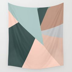 light pink triangles Wall Tapestry by Cau Lacerda. Worldwide shipping available at Society6.com. Just one of millions of high quality products available.