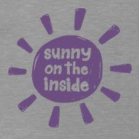 Sunny On The Inside #LifeisGood #ThinkSpring    We started bringing life is good into our family after we realized what a positive effect it had on all the negativity that surrounded us.  We had a lot of heartache, and still do, but I believe the best is yet to come, so on those days when I need it most, I pull out out my LIG pj's or t's and wear my comfort over my heart...puts a smile on my face and gives me perspective.  I'll have to add this one to my collection! Thanks LIG!