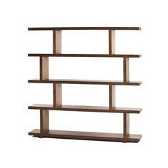 Balance Bookshelf in Walnut