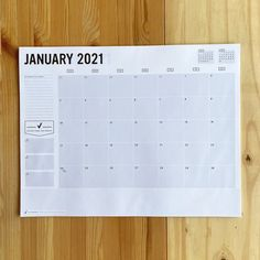 the classic Get To Work Book monthly calendar, now in BIG desk size form!JANUARY - DECEMBER 2021 <ul> <li>12 pages measuring 17x22 inches</li><li>daily boxes ar... Big Desk, Goals Planner, Desk Calendars, Give It To Me, Spotlights, Books, December, Business, Classic