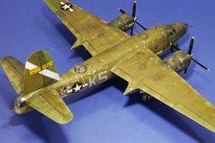 Istvan Michalko's scale models: B-26B Marauder - 1/48 Monogram - Finished!