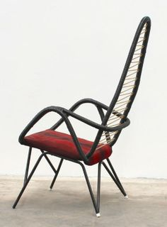 Anonymous; Lounge Chair, 1950s.