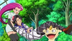 Some nasty weather sends both our heroes and Team Rocket into what appears to be an abandoned mansion. But once inside, they can't figure out how to leave! Both groups point fingers at each other, but there may be a more interesting—and melancholy—reason they're trapped in this old house!