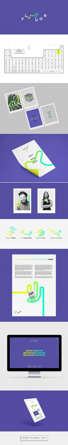 Fluor Naming & Branding on Behance - created via https://pinthemall.net