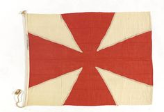 House flag, Charente Steamship Co. Ltd - National Maritime Museum