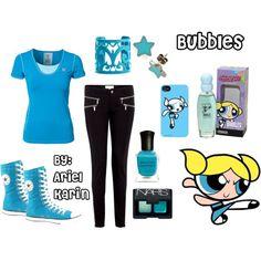 Powerpuff Girls: Bubbles by ariel-karin on Polyvore