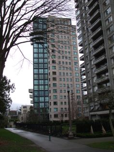 Highrises West Of Denman The presidio Foot of Barclay Street 2000 Block Vancouver West End