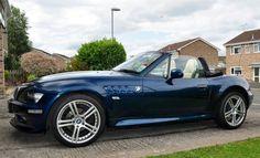BMW Z3 blue Bmw Z3, Bmw Classic Cars, Bmw Love, Bmw Cars, Sexy Cars, Exotic Cars, Cool Cars, Dream Cars, Garage