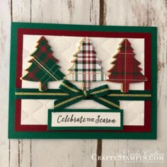 Holiday Catalog Launch Party - Stampin Scoop - Episode 63 - Linda Cullen 2018 Stampin Up Holiday Catalog Launch Party - see over 80 card samples of most of the stamps in the catalog to get your creative juices going! Homemade Christmas Cards, Stampin Up Christmas, Christmas Cards To Make, Xmas Cards, Homemade Cards, Handmade Christmas, Holiday Cards, Christmas Crafts, Christmas Tag