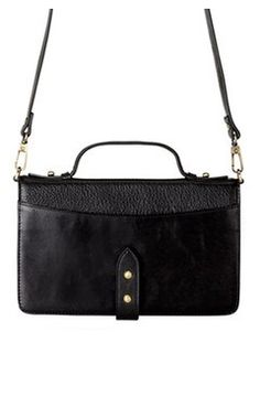 'Outlaw' Bag Mary I, 21st Gifts, Women's Accessories, Black Leather, Handbags, Shopping, Fashion, Moda