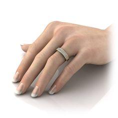 15 Best Wedding Rings Images On Pinterest Halo Rings Wedding Band