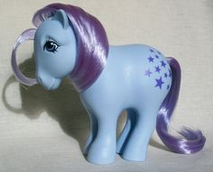 My Little Pony - G1 - 1983 - Collector's Pose Ponies - Blue Belle (CF) ~HAVE~