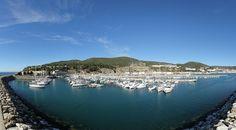 360º Virtual Visit to Marina do Clube Naval de Sesimbra, Portugal - via www.visitasvirtuais.com
