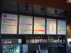 Custom Restaurant Menu Boards