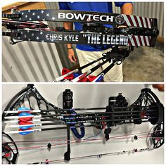 "OMG, LOVE this!!! Bowtech Archery. Special Limited Edition. Commemorating Chris Kyle ""The Legend"""