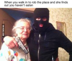 No one goes hungry on grandma's watch