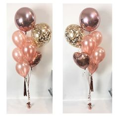 Who loves rose gold? Because we do! We're now stocking rose gold hearts, orbz, latex balloons, confetti and tassels. Currently in our Sydney store. #rosegold #styleinspo #eventplanning #eventstyling #confetti #confettiballoons #orbz
