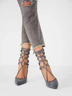 Jeffrey Campbell + Free People Hierro Heel at Free People Clothing Boutique
