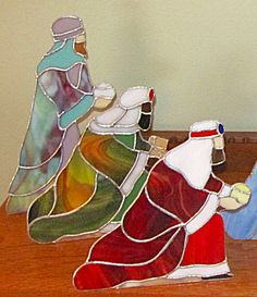 Stained Glass Christmas Nativity (Image1)