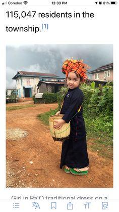 Cute Asian Babies, Burmese, Traditional Dresses, Crochet Hats, Beautiful, Fashion, Knitting Hats, Moda, Fashion Styles