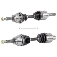 For Mazda 3 5 FWD 05-10 Pair of Front CV Axle Shafts SurTrack Set Auto Transm